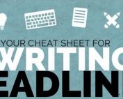 Een cheatsheet voor het schrijven van knallend titels voor jouw content