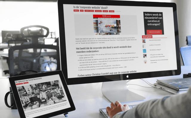 Online expertise tonen met content
