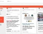 Blendle nu beschikbaar als bron voor HowardsHome Nieuws gebruikers