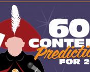 Screenshot van Slideshare CMI 60 content predictions for 2015