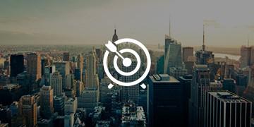 Afbeelding van een sky line als achtergrond voor ons product Sales Triggers