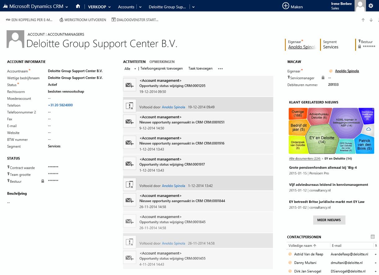 HowardsHome API Microsoft Dynamics integratie